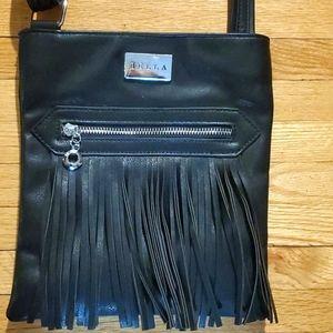 Nwot fringe leather purse